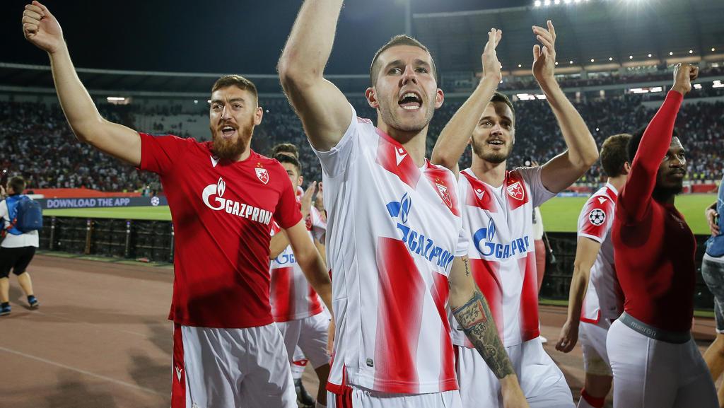 Roter Stern Belgrad setzte sich gegen FK Indjija durch