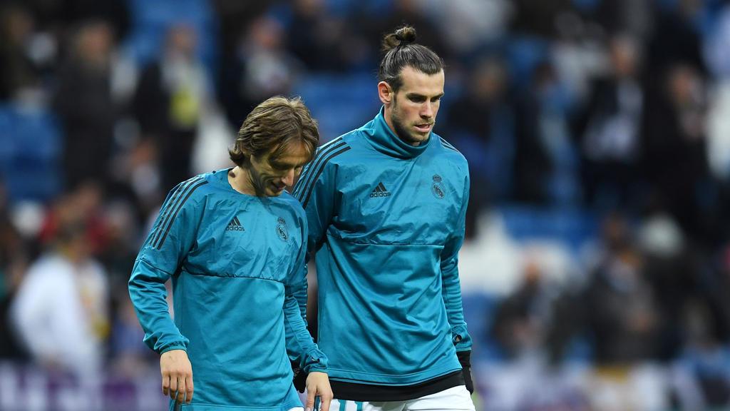 Luka Modric (li.) und Gareth Bale fehlen Real gegen Mallorca