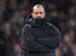 Kann Trainer Nuno Espirito mit seinen Wolves auch den zweiten Klub aus Manchester schlagen?