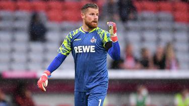Timo Horn ist mit der Entwicklung des 1. FC Köln zufrieden