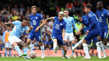 Manchester City hat einen wichtigen Sieg gegen Chelsea gefeiert