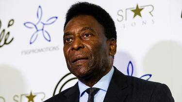 Brasiliens Fußball-Legende Pelé in Trauer
