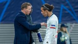 Leipzig-Coach Julian Nagelsmann kann Yussuf Poulsens Frust verstehen