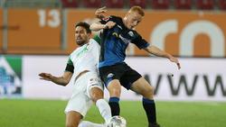 Der FC Augsburg und der SC Paderborn trennten sich mit einem müden 0:0