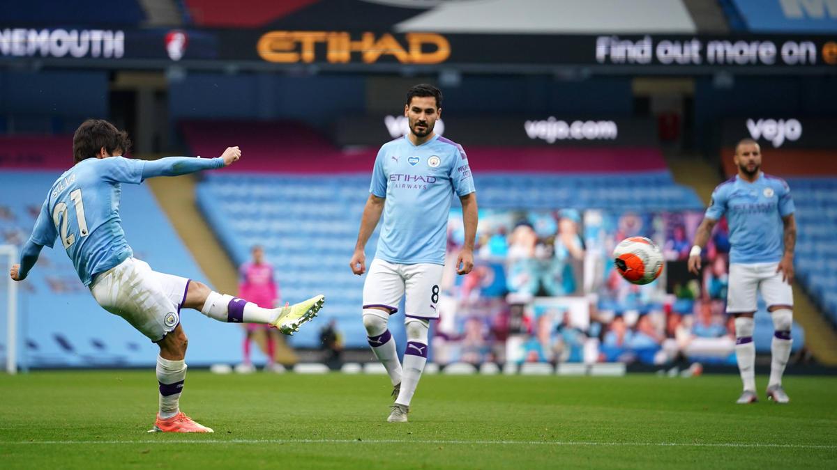 Manchester City hat den nächsten Sieg gefeiert
