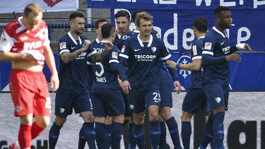 Der VfL Bochum feierte einen verdienten Sieg gegen die Würzburger Kickers