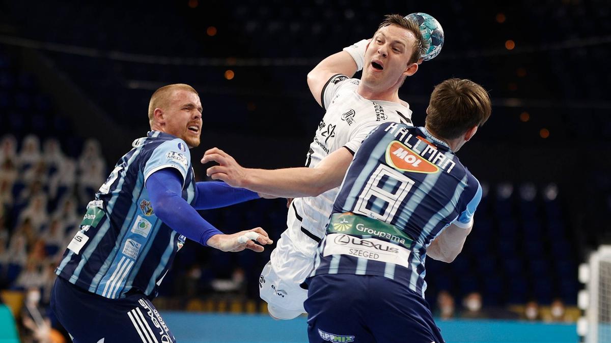 Sander Sagosen überragte beim Sieg des THW Kiel