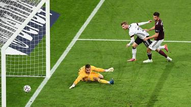 Joker Timo Werner traf gegen Lettland