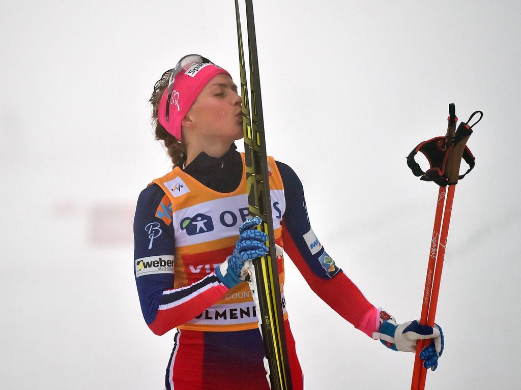 Therese Johaug entscheidet den Weltcup in Falun für sich