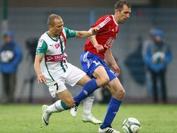 Sebino Plaku (l.) vs. Adrian Klepczynski (r.)