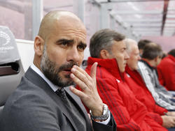 Pep Guardiola hatte Lob für seine Mannschaft und die Berliner parat