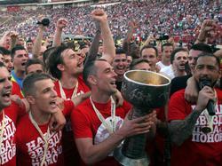 Roter Stern Belgrad jubelt über den 26. Meistertitel der Vereinsgeschichte