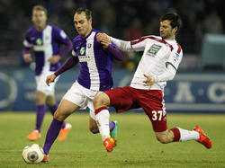 Rico Benatelli (l.) wechselt zu den Würzburger Kickers