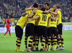 Borussia Dortmund hat in diesen Wochen viel Grund zu jubeln