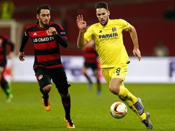 Alfonso en la fase de clasificación para la Europa League contra el Bayer. (Foto: Getty)