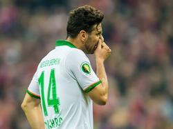 Claudio Pizarro steht dem SVW in Lotte nicht zur Verfügung