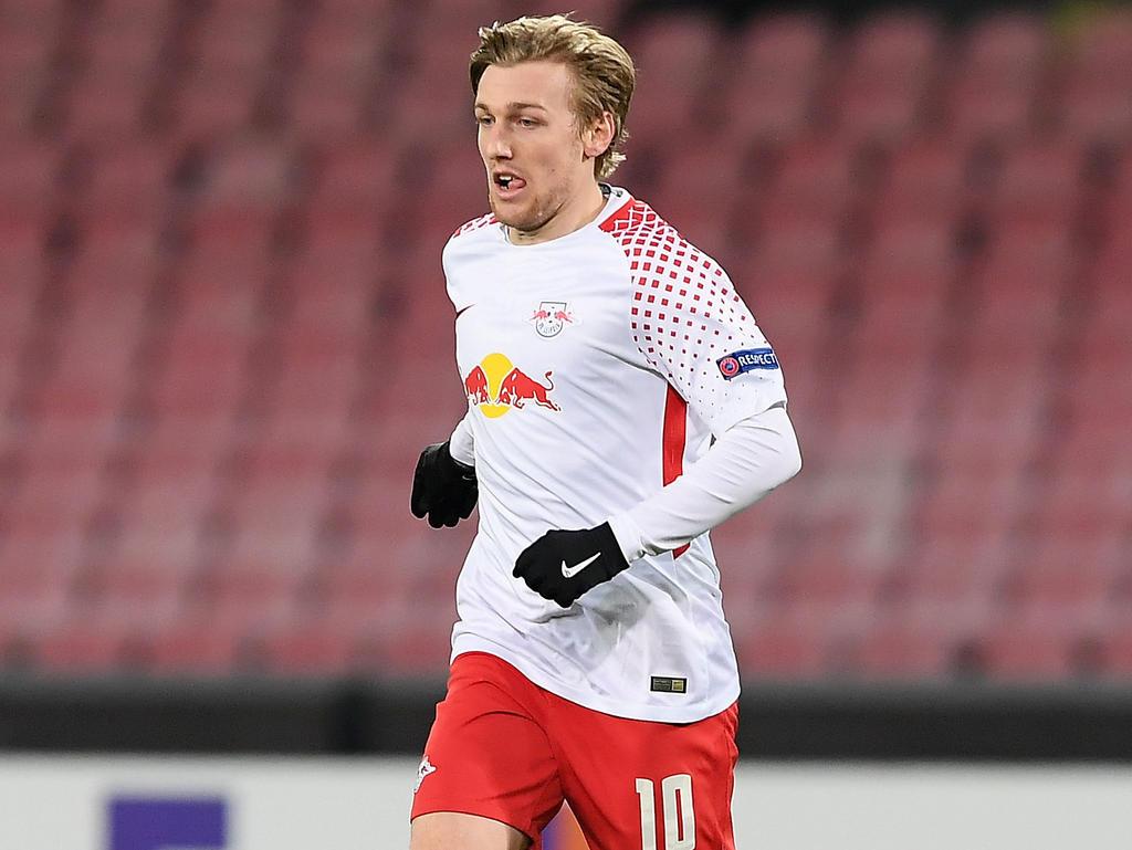 Emil Forsberg will Samstagabend einen wichtigen Sieg einfahren