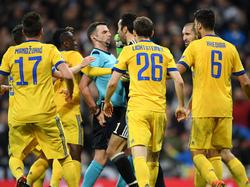 Gigi Buffon war nach dem Elfmeterpfiff außer sich