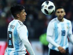 Enzo Pérez tiene opciones de salir en el once titular. (Foto: Getty)