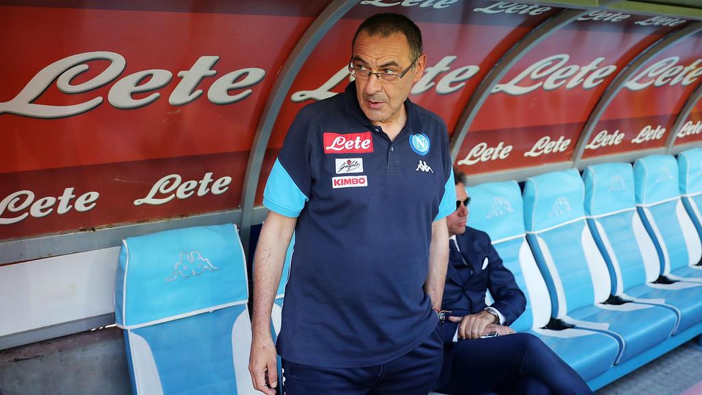 Maurizio Sarri soll neuer Chelsea-Trainer werden