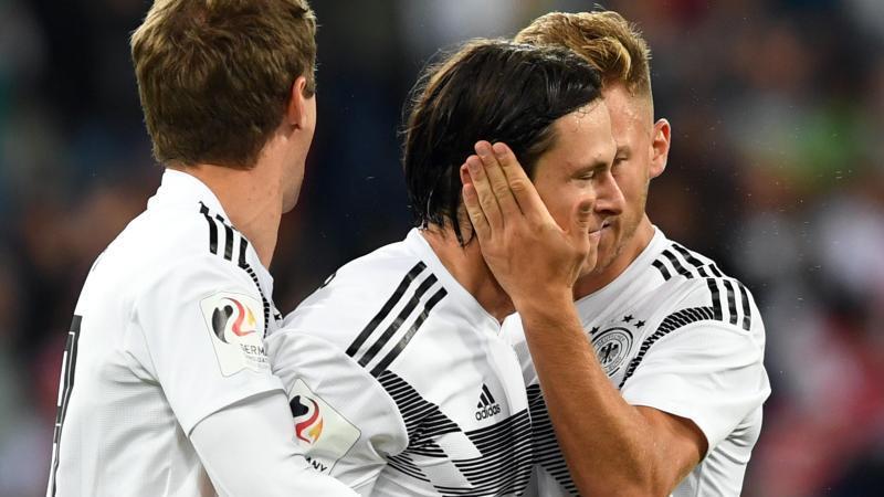 Nico Schulz traf gegen Peru zum Sieg