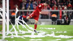 Robert Lewandowski erzielte am Wochenende zwei Tore für den FC Bayern