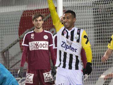 João Víctor traf gegen Mattersburg zweimal