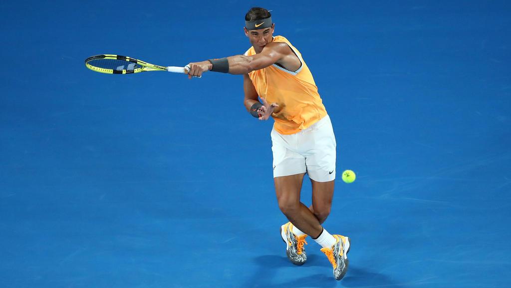 Rafael Nadal hat den Titel bei den Australian Open weiter fest im Blick