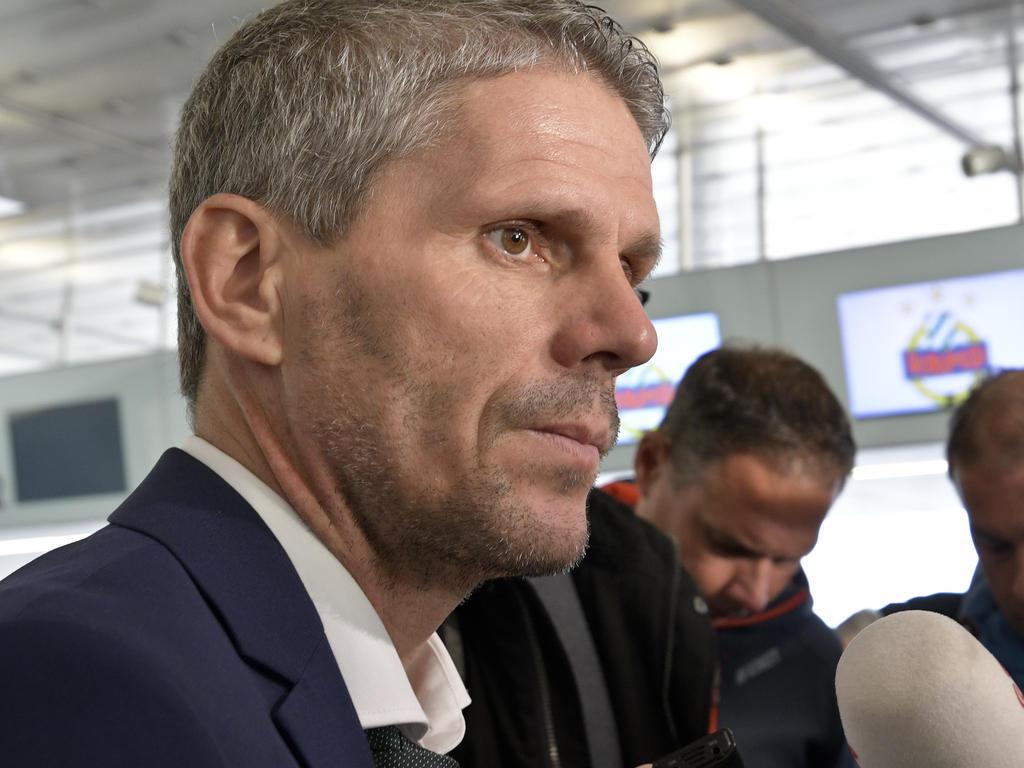 Rapid-Trainer Dietmar Kühbauer vor schwerer Aufgabe gegen Inter
