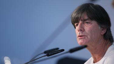 Bundestrainer Joachim Löw hofft auf einen guten Start in die EM-Quali