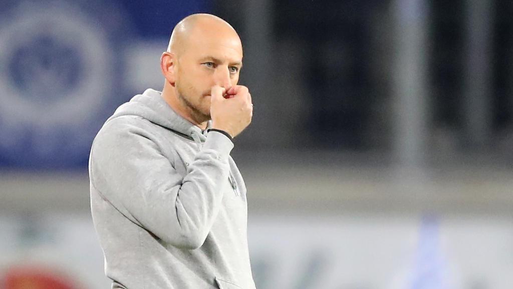 Soll auch im Falle des Abstiegs bleiben:Duisburgs Trainer Torsten Lieberknecht