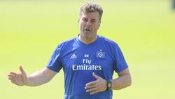 Dieter Hecking steht vor seinem ersten Spiel als HSV-Trainer