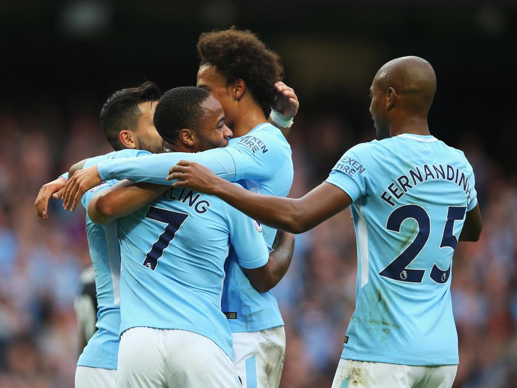 Manchester City grüßt nach dem Sieg von der Spitze