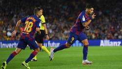 Luis Suárez demostró su poder anotador tras entrar desde el banquillo.