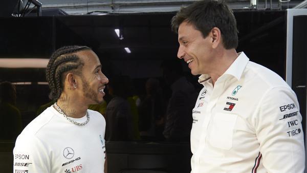 Lewis Hamilton und Toto Wolff haben bereits über die Formel E gesprochen