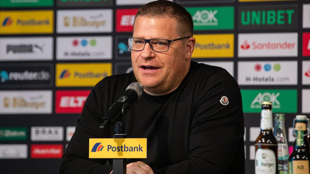 Max Eberl ist der Sportdirektor von Borussia Mönchengladbach