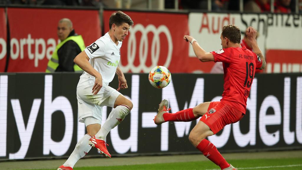Der FC Ingolstadt und Unterhaching trennten sich 0:0