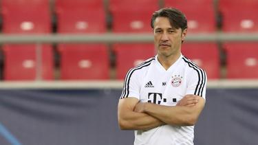 Niko Kovac ließ offen, wer für den verletzten Niklas Süle beim FC Bayern spielen wird