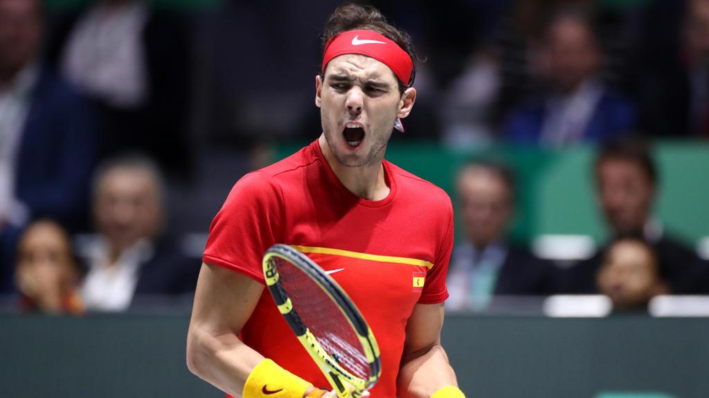 Rafael Nadal sicherte Spanien den entscheidenden Punkt