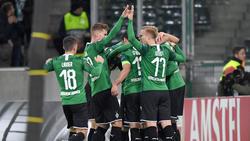 Borussia Mönchengladbach holte den ersten Sieg in der Gruppenphase der Europa League