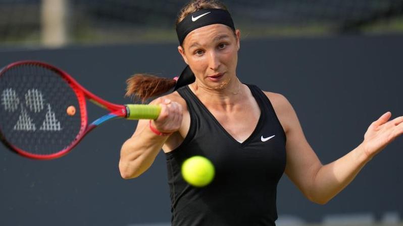 Tamara Korpatsch steht beim WTA-Turnier in Gdynia im Viertelfinale