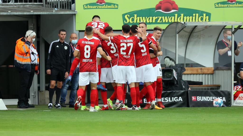 Deutlicher Sieg für den SC Freiburg gegen den FC Augsburg