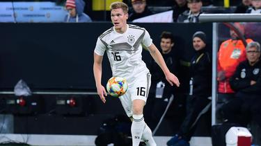 Marcel Halstenberg bestritt bisher sechs Länderspiele für das DFB-Team