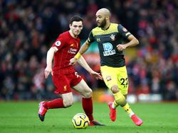 Liverpool FC trifft auf den Southampton FC