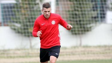 Lukas Podolski verliert das Pokal-Hinspiel mit Antalyaspor
