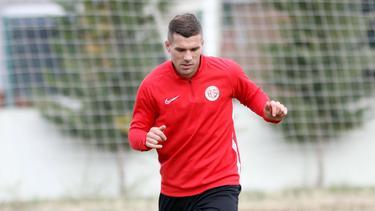 Lukas Podolski bereitete für Antalyaspor zwei Tore vor