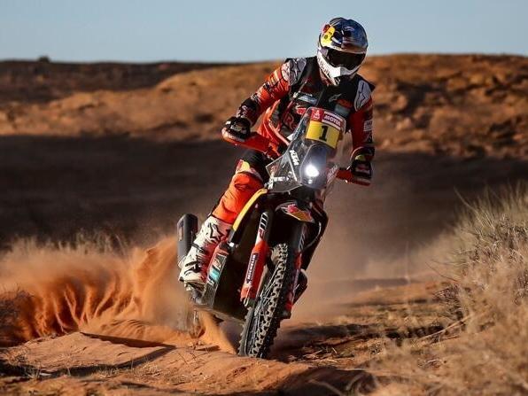 Toby Price fuhr in Saudi-Arabien als Dritter auf das Podest