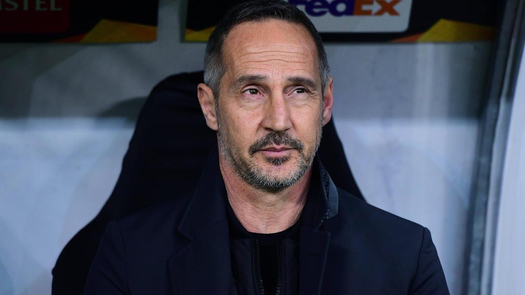Adi Hütter gleubt nicht, dass die Europa League fortgesetzt werden kann