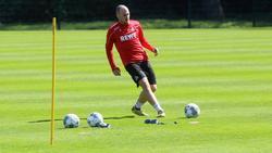 Zurück im Training: Rafael Czichos