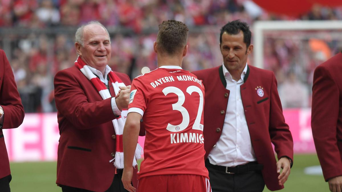 Bayerns Joshua Kimmich entwickelt sich mehr und mehr zum Führungsspieler des Rekordmeisters